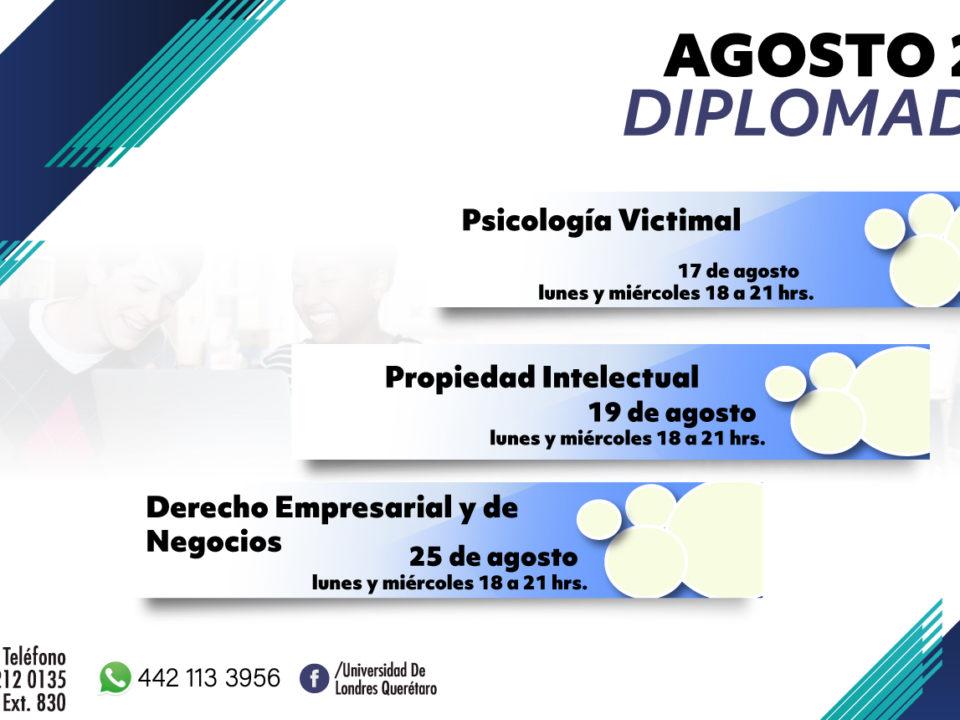 Diplomados Agosto 2020